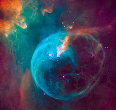 26周年迎える「ハッブル宇宙望遠鏡」、卵型の青い星雲を撮影 | sorae.jp : 宇宙(そら)へのポータルサイト