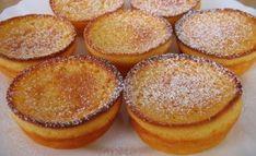 Portuguese Yogurt Tarts Recipe - Portuguese Recipes - Food Recipes from Portugal Tart Recipes, Cupcake Recipes, Baking Recipes, Sweet Recipes, Cupcake Cakes, Cupcakes, Dessert Recipes, Portuguese Desserts, Portuguese Recipes
