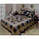 Williamsburg Quilt Luxury Oversize King Size, Cotton Quilt 118x102 Brand Elegant decor