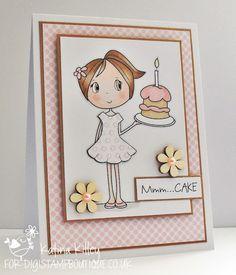 Katina's Cards and Chat: Daisy