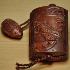 印籠(いんろう) 【鯉(こい)】【楽天市場】