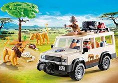 Amazon.de:PLAYMOBIL 6798 - Safari-Geländewagen mit Seilwinde
