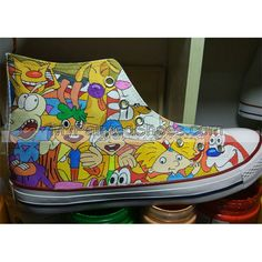 Pokemon Shoes Converse Pokemon Shoes Design Canvas Casual Fashio Painted Canvas Shoes, Hand Painted Shoes, Design Your Own Shoes, On Shoes, Designer Shoes, Sneakers Fashion, High Tops, High Top Sneakers, Pokemon