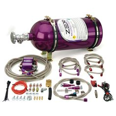 Nissan 350Z 2007-2008 Zex wet Nitrous Kit (75hp-100hp)