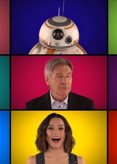 It's not a major surprise that some of the cast of Star Wars: The Force Awakens can carry a tune.