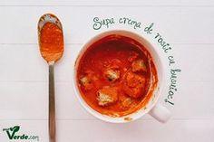 Poate cea mai buna supa crema de rosii din lume!