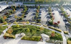 Does Landscaping Require A Permit Product Park Landscape, Green Landscape, Landscape Architecture, Landscape Design, Car Park Design, Parking Design, Parking Plan, Masterplan, Parque Industrial