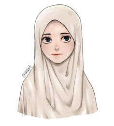 low cost healthy recipes for two people kids pictures Tumblr Drawings, Cartoon Drawings, Art Drawings, Pencil Drawings, Girl Cartoon, Cartoon Art, Tumblr Ocean, Hijab Drawing, Scarf Drawing