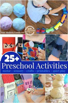 25+ Preschool Activities