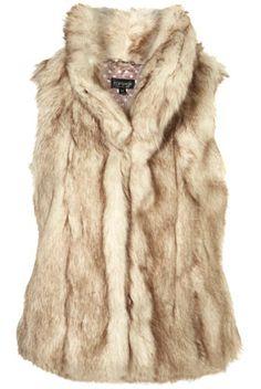 furry vest!