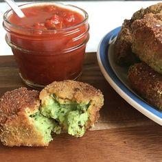 Spinach and Artichoke Mozzarella Bites | www.thealiconklin.com