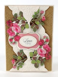 """© Anna Griffin Inc. Joyful Expressions Embossing Folders- featuring beautiful braid, medallion, floral and scallop designs that add a """"wow"""" moment to any paper project. Available on hsn.com for $24.95."""