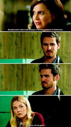 """Regina, Killian and Emma - 6 * 7 """"Heartless"""""""