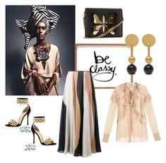 """""""Always wear your invisible crown"""" by obsessedaboutstyle ❤ liked on Polyvore featuring Sebastian Professional, DENY Designs, Christian Louboutin, Roksanda, Givenchy, Gucci and Mulberry"""