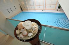 Grüße aus dem Kamp Hotel in Cuxhaven - Wellness im Spa - mit großem Schwimmbad - herrlich! #pressereise #schwimmbad #hotel #pool #travel #blogger #blog