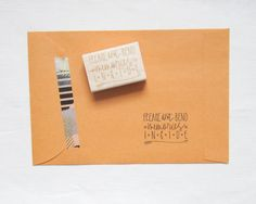 Photography Stamp Photographers Stamp Please Don't by papersushi, $19.00