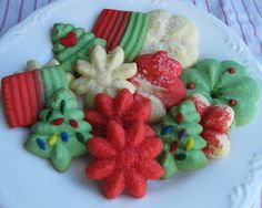 Spritz Cookies Recipe From Better Homes & Gardens Cookie Book (Baking Outside the Box)