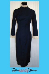 1950's Vintage Betty Barclay Dress