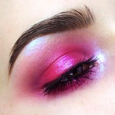 """3,980 Likes, 26 Comments - Elena (@coooopp) on Instagram: """"Pink Day 73/100 of #100daysofmakeup challenge Products:  @manlyprocosmetics Pink eyeshadows;…"""""""