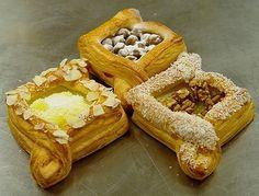 A tu mám pre Vás prvý tip ako vyskúšať niečo nové z lístkového cesta. Slovak Recipes, Austrian Recipes, Torte Recepti, Sweet Pastries, Cooking Together, Cook At Home, Sweet Bread, High Tea, Food Art