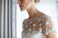 Photography: The Nichols - http://www.stylemepretty.com/portfolio/nichols-photographers Dress: Marchesa - http://www.stylemepretty.com/portfolio/notte-by-marchesa   Read More on SMP: http://www.stylemepretty.com/2014/01/10/al-fresco-austin-wedding/