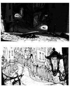 Artes do filme The BoxTrolls, por Michel Breton   THECAB - The Concept Art Blog