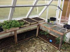greenhouse from old windows 8