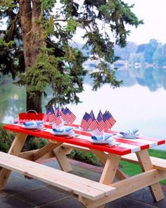 Decorating Ideas For 4th Of July  Patriotic Decorating Ideas For The Fourth Of July