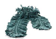 Smoke Blue Handwoven Cotton Scarf by orbachilan on Etsy, $140.00