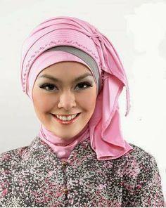 Tips Berhijab | Komunitas Hijabers | Fashion Moslem | Hijab Modern | Tutorial Hijab: KREASI HIJAB BERGO UNTUK PESTA/ ACARA RESMI