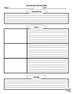 informational writing graphic organizer The writing models (paragraph frames and organizers) provide practice for the writing test refer to the pages that follow for examples of framed paragraphs activities reproducible graphic organizers and paragraph frames are provided for these skills: ▫ generic paragraph organizers(title, introduction (&topic sentence).