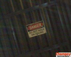 No kidding.....   --------- funny warning signs 11