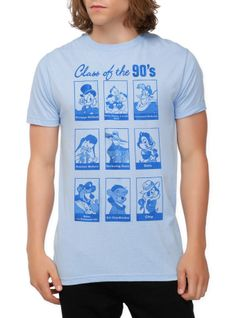 Disney Class Of The 90's Slim-Fit T-Shirt | Hot Topic