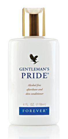 Gentleman's Pride. Emulsja po goleniu Gentleman's Pride pojawiła się w ofercie Forever Living Products na wyraźne życzenie męskiej części klienteli firmy.