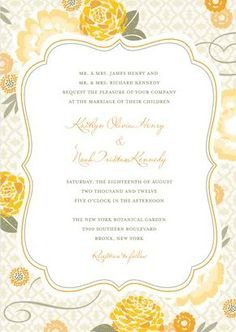 The Perfect Palette: {Sunshine Soiree}: Shades of Yellow, Gray + White