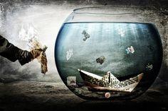 Surrealism, Wine Glass, Digital Art