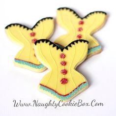 d41045c2e6 ½ Dz. Siren Corset Cookies