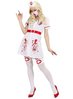 Costume da infermiera sanguinolenta da donna
