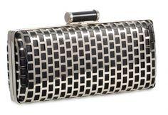 Black & Silver clutch