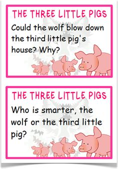 The Three Little Pigs Reading Prompts - Treetop Displays - A set of 22 reading prompt A5 flashcards for the story of The Three Little Pigs. Each prompt links to the APP assessment guidelines. A great resource for children reading this story! Visit our website for more information and for other printable resources by clicking on the provided links. Designed by teachers for Early Years (EYFS), Key Stage 1 (KS1) and Key Stage 2 (KS2).
