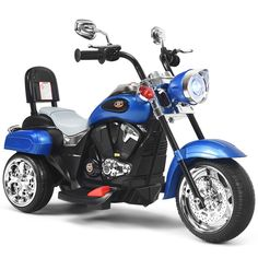 Walmart has the Costway 3 Wheel Kids Ride On Motorcycle 6V Battery Powered Electric Toy Blue marked down from $284.99 to $139.99 with free shipping. TO GET THIS DEAL: GO HERE to add it to your cart Select in store pick up or get free shipping is free to your home with any $35 purchase…