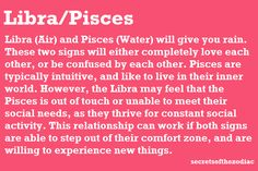 Compatibility between libra woman pisces man