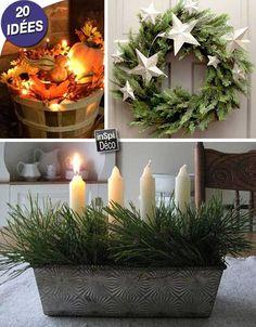 Des décorations Hiver DIY pour votre intérieur! 20 idées pour vous inspirer... Des décorations Hiver DIY. Si vous aimez décorer votre intérieur selon la saison de l'année, ces petites idées DIY vous plairont surement. Aujourd'hui nous avons sé...