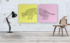 CAT MIX wall art by deko boko.
