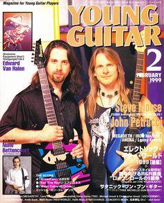 YOUNG GUITAR FEB 1999 Steve Morse John Petrucci Van Halen Nuno Bettencourt NEW! Nuno Bettencourt. Steve Morse John Petrucci on Cover! John Petrucci. Edward Van Halen. Steve Morse. | eBay!
