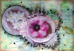 Joanna i scrappasja blog o scrapbookingu: Kwiecisty art journal...
