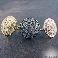 "Rings ""Archaic Shield """