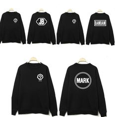 >> Click to Buy << 2016 NEW K-pop Korea popular group got7 Costume kpop GOT7 Pullovers hoodie unisex Black k pop Jacket Fleece Clothes Sweatshirts #Affiliate
