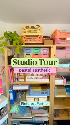 Ikea Pegboard, Packing Supplies, Desk Areas, Dream Studio, Wooden Shelves, Room Organization, Home Crafts, Uni, Dorm