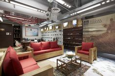 Vanity Fair Corporation   Oficinas Corporativas   en la Ciudad de México   de Oxígeno Arquitectura   #CDMX #Interiors #Design #Corporativos #Arquitectura